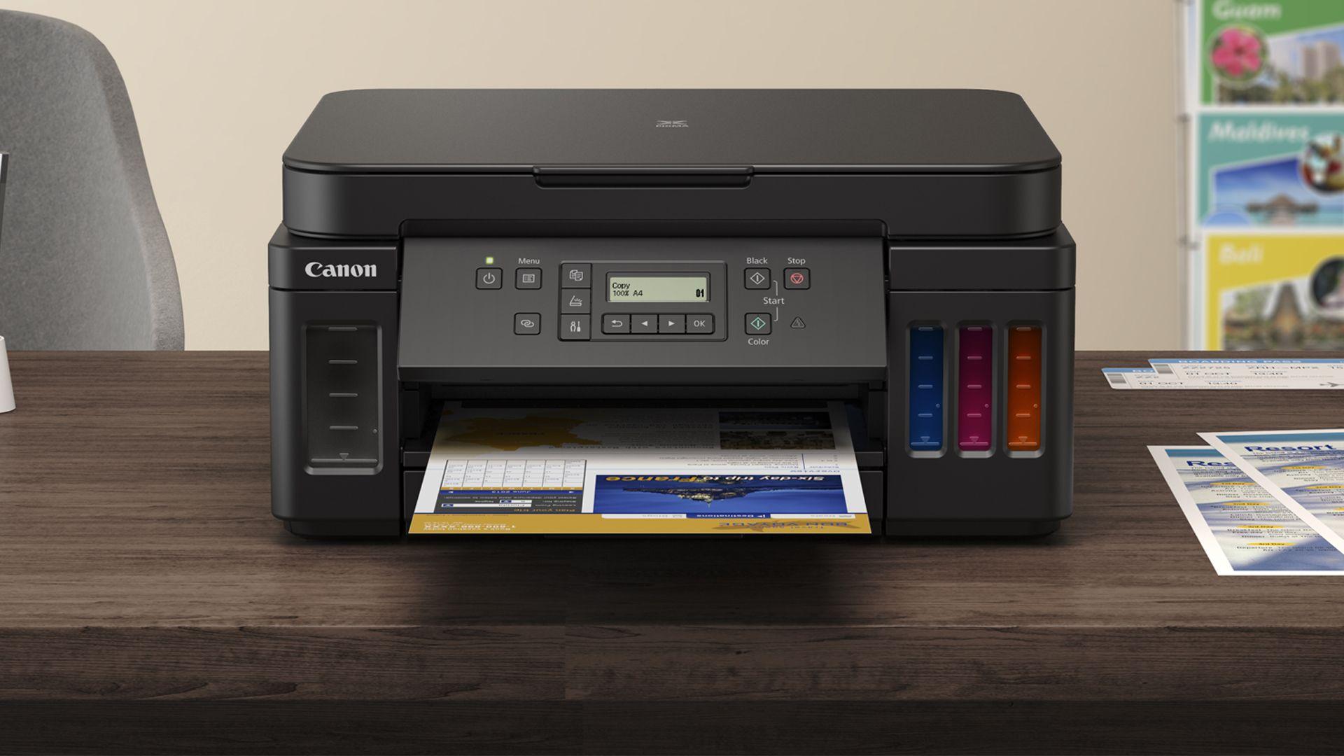 Canon lança impressoras tanque de tinta G6010 e GM2010; confira