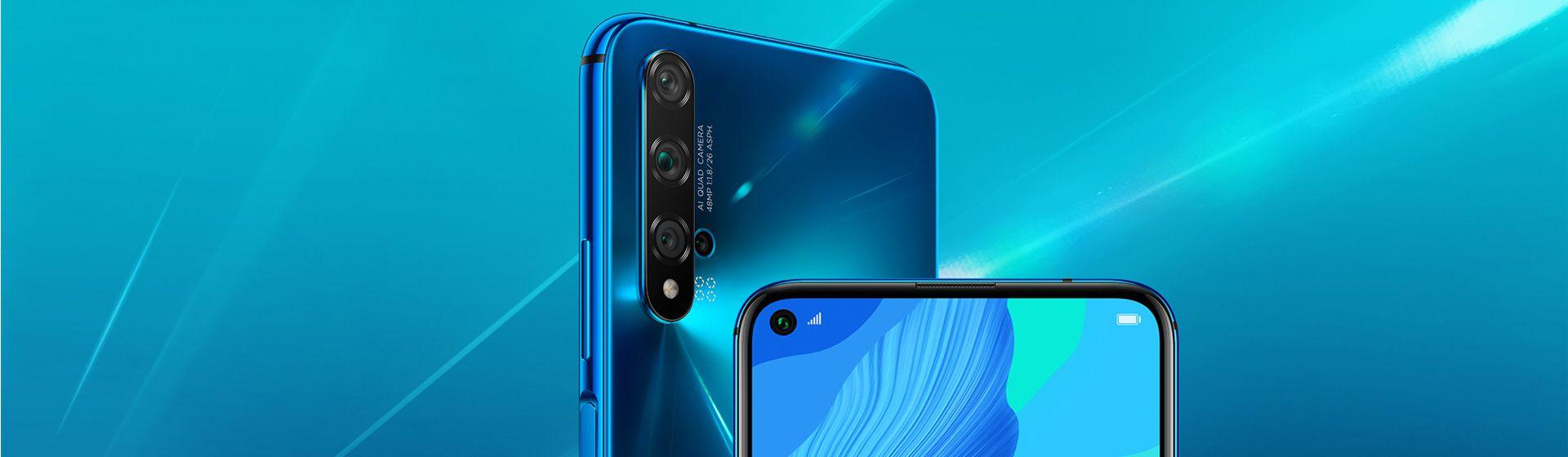Huawei nova 5T chega ao Brasil com apps do Google; veja ficha técnica e preço