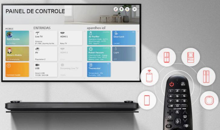 Como baixar aplicativos na smart TV LG