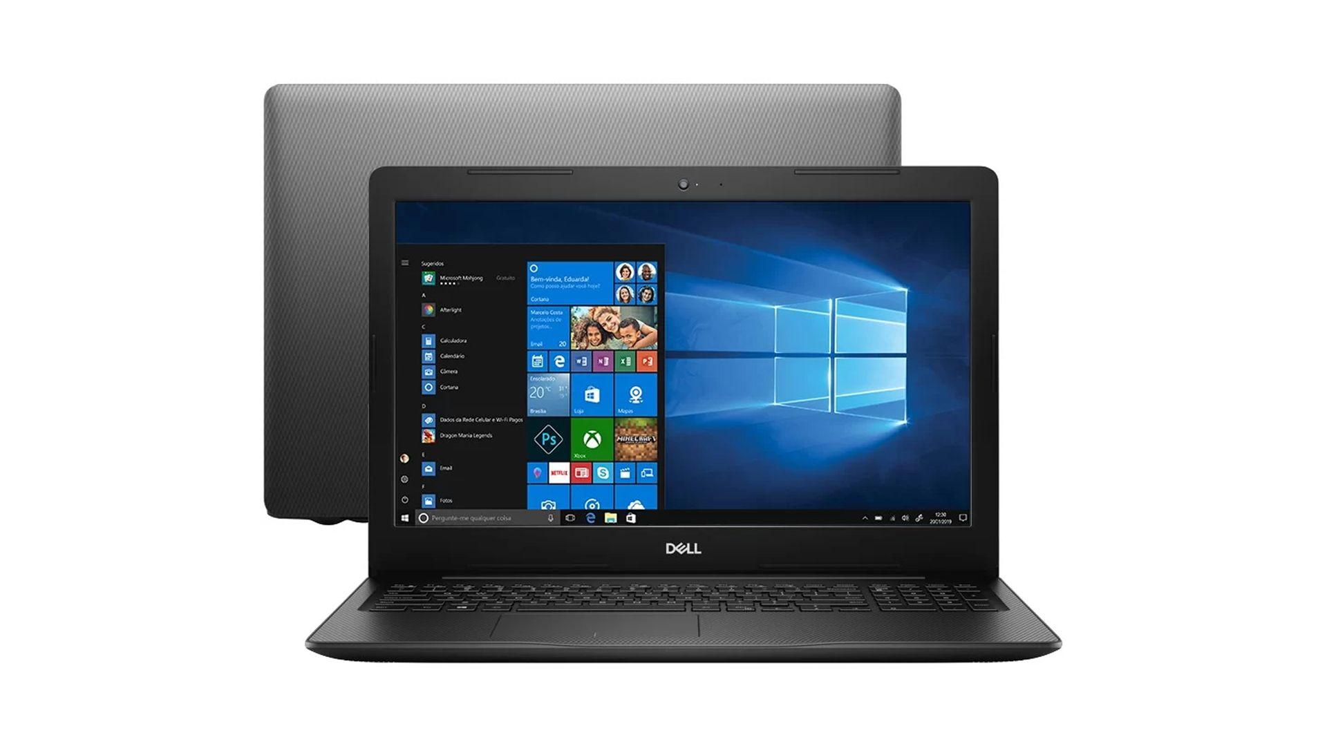 Dell Inspiron 3583 é um notebook indicado para tarefas básicas do dia a dia. (Foto: Divulgação/Dell)
