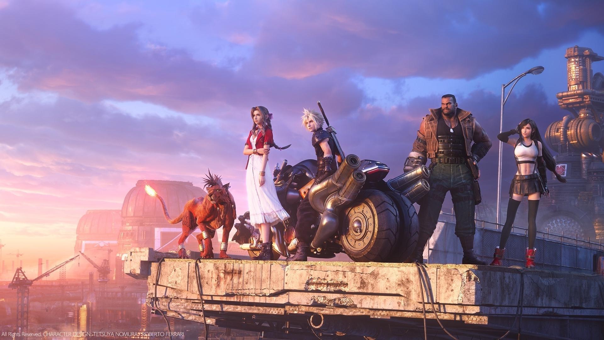 Final Fantasy 7 Remake é a recriação do RPG clássico no PS4. (Foto: Divulgação/Square Enix)