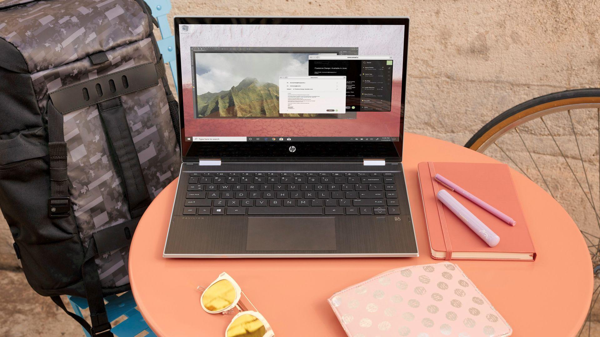 HP anuncia novo notebook Pavilion x360 com Intel Core de 10ª geração e suporte a 4G