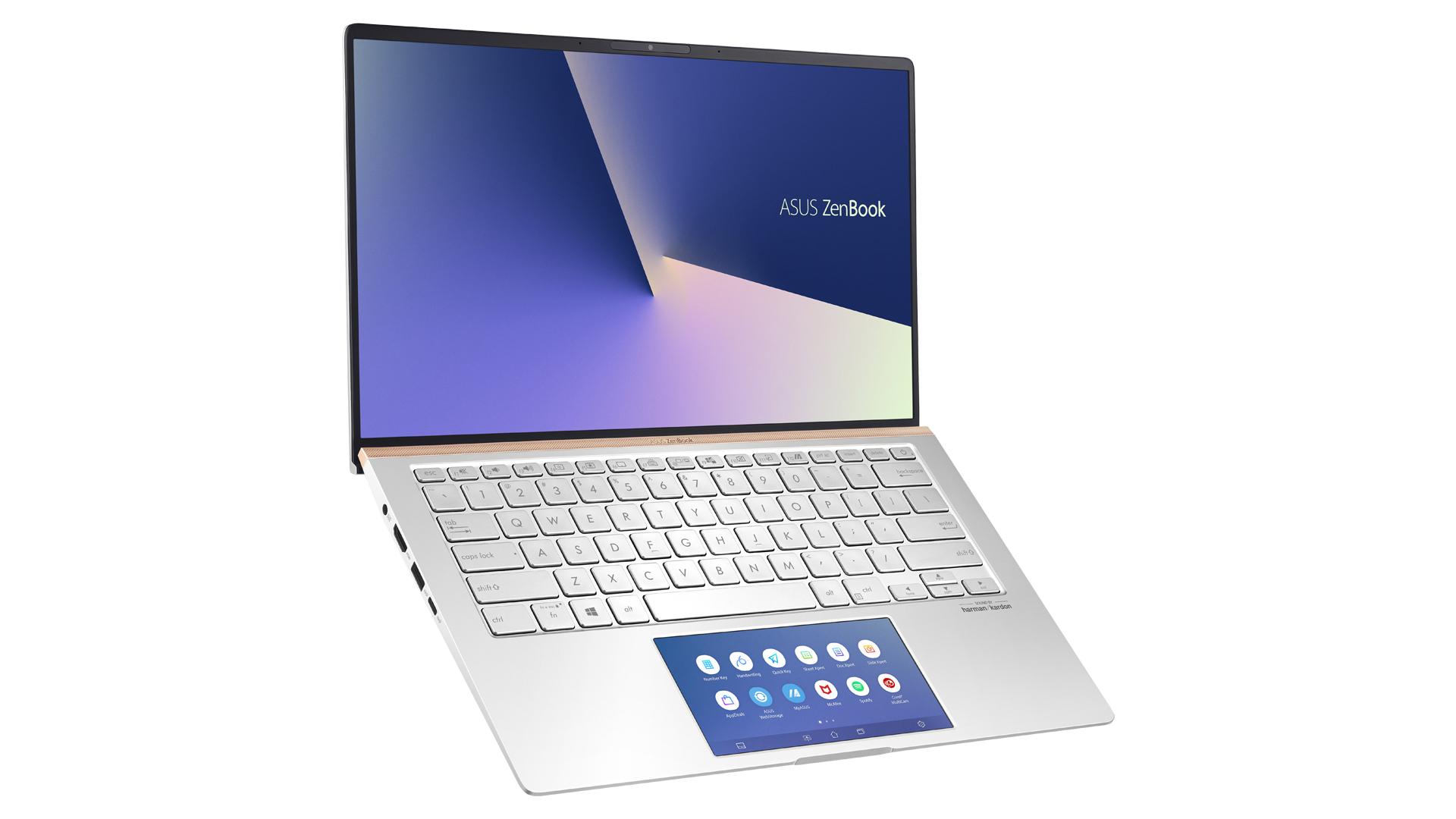 Notebook possui dobradiças que aumentam inclinação da tela (Foto: Divulgação/Asus)