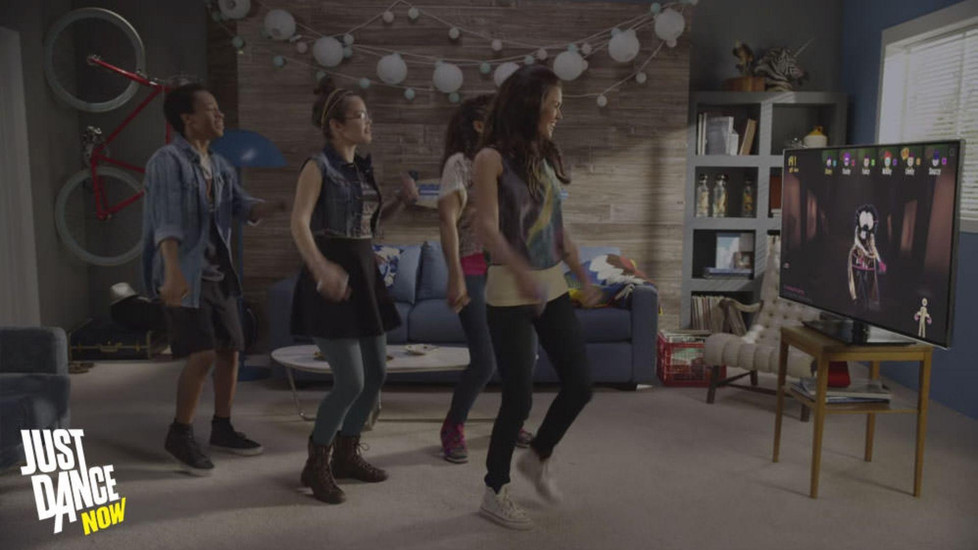Reúna todo mundo da casa e dance na frente da TV com o Just Dance Now. | Divulgação: Just Dance Now