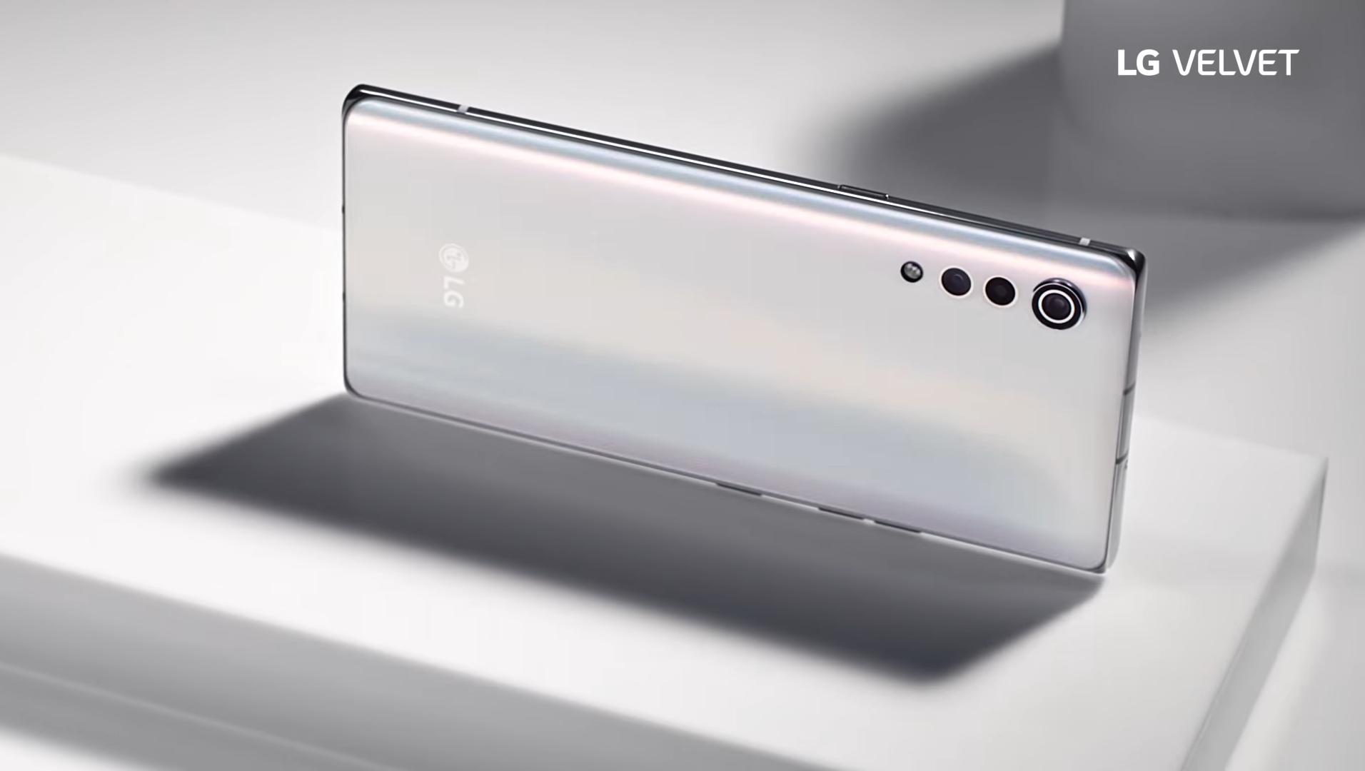 LG Velvet é revelado com novo design e Snapdragon 765G