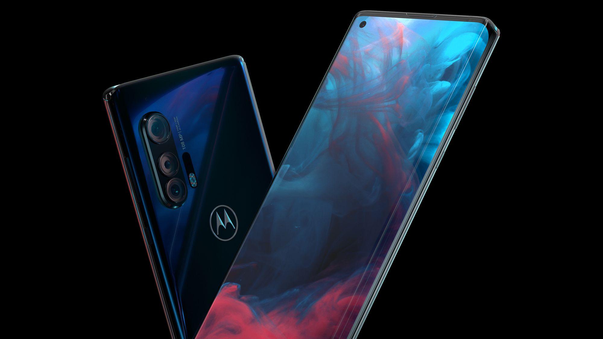 Motorola anuncia 'Edge Plus', novo celular top de linha com tela curva