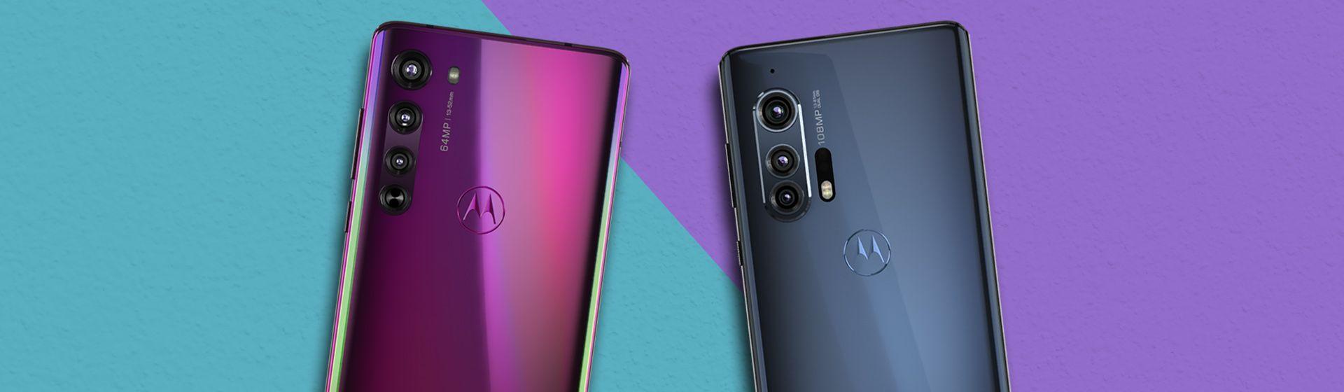 Motorola Edge vs Edge+: entenda as diferenças entre os celulares