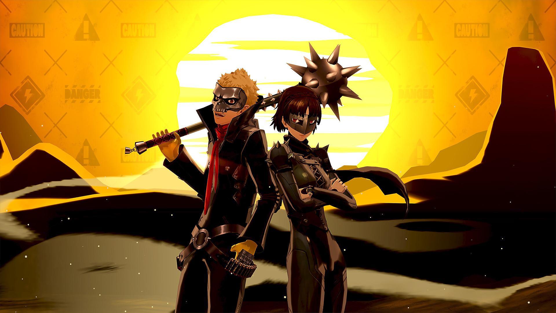 Persona 5 Royal traz combates em turnos e visual de anime. (Foto: Divulgação/Atlus)