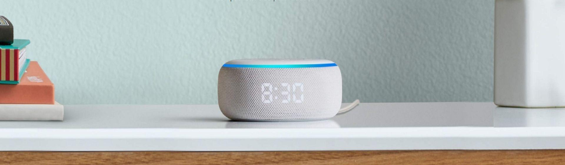 Amazon lança Echo Dot com relógio no brasil; veja preço e disponibilidade