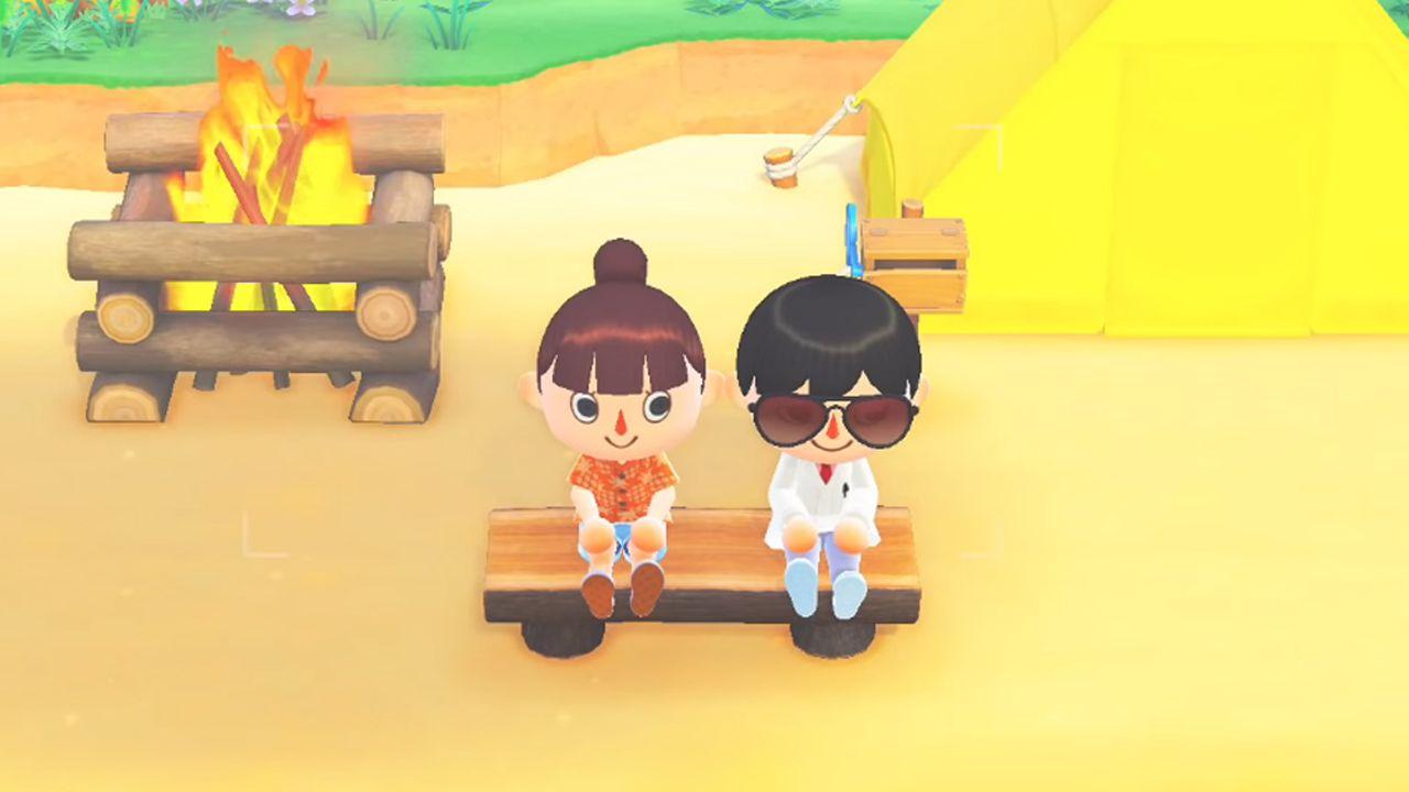 Animal Crossing: New Horizons é um jogos que permite se encontrar dentro das ilhas virtuais. (Imagem: Reprodução/YouTube/Nintendo)