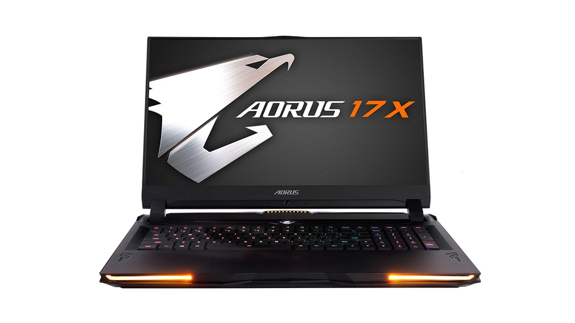Aorus 17X, um dos lançamentos da Gigabyte para jogadores de alta performance. (Foto: Divulgação/Gigabyte)