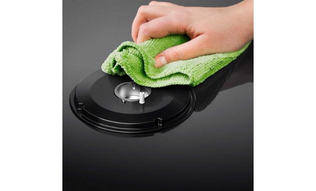 Mesa desse modelo de fogão Electrolux facilita a limpeza. (Imagem: Divulgação/Electrolux)