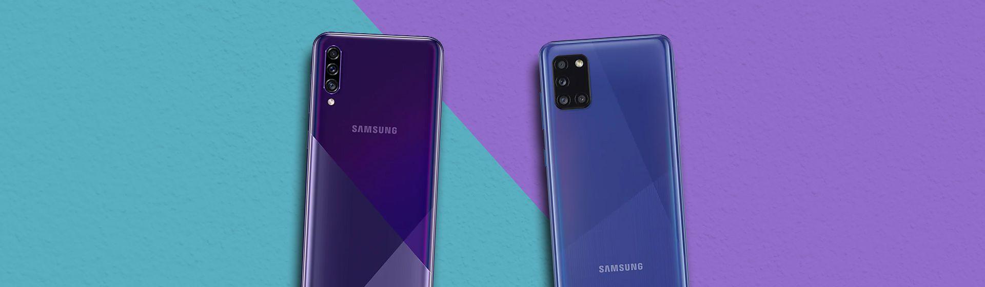 Galaxy A30s vs Galaxy A31: o que muda nos celulares Samsung?