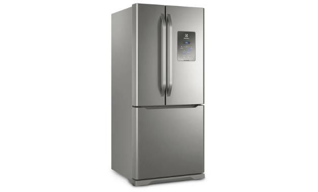 A Electrolux DM84X é uma geladeira três portas. (Imagem: Divulgação/Electrolux)