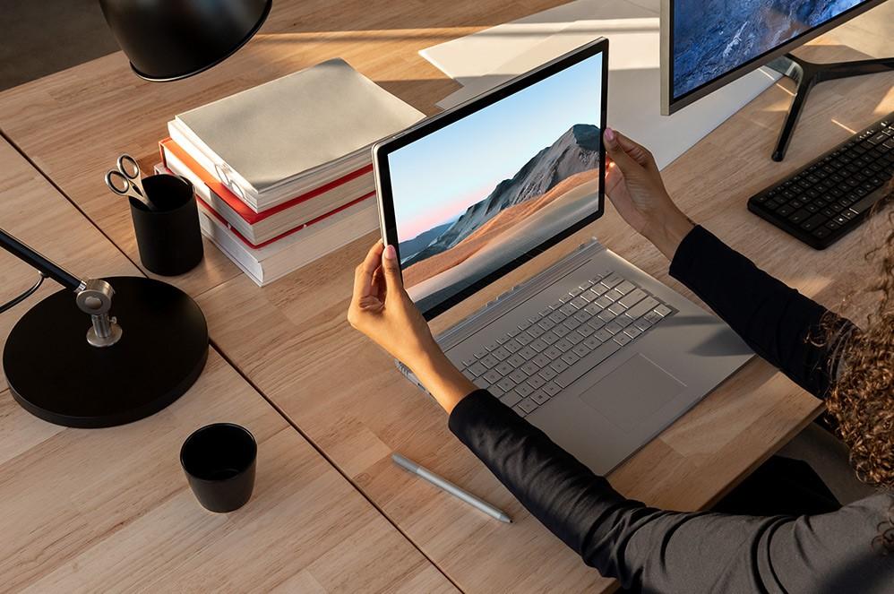 Surface Book 3 promete portabilidade e desempenho no mesmo aparelho. (Foto: Divulgação/Microsoft)