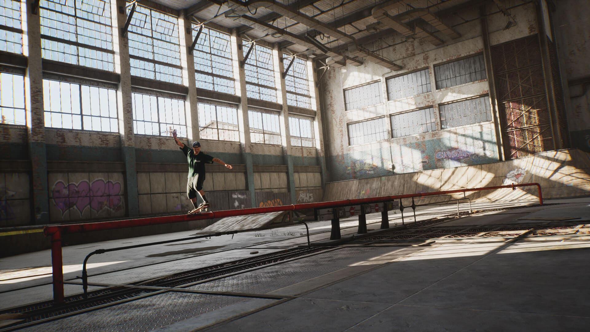 As pistas clássicas estão de volta em Tony Hawk's Pro Skater 1 e 2. (Foto: Divulgação/Activision)