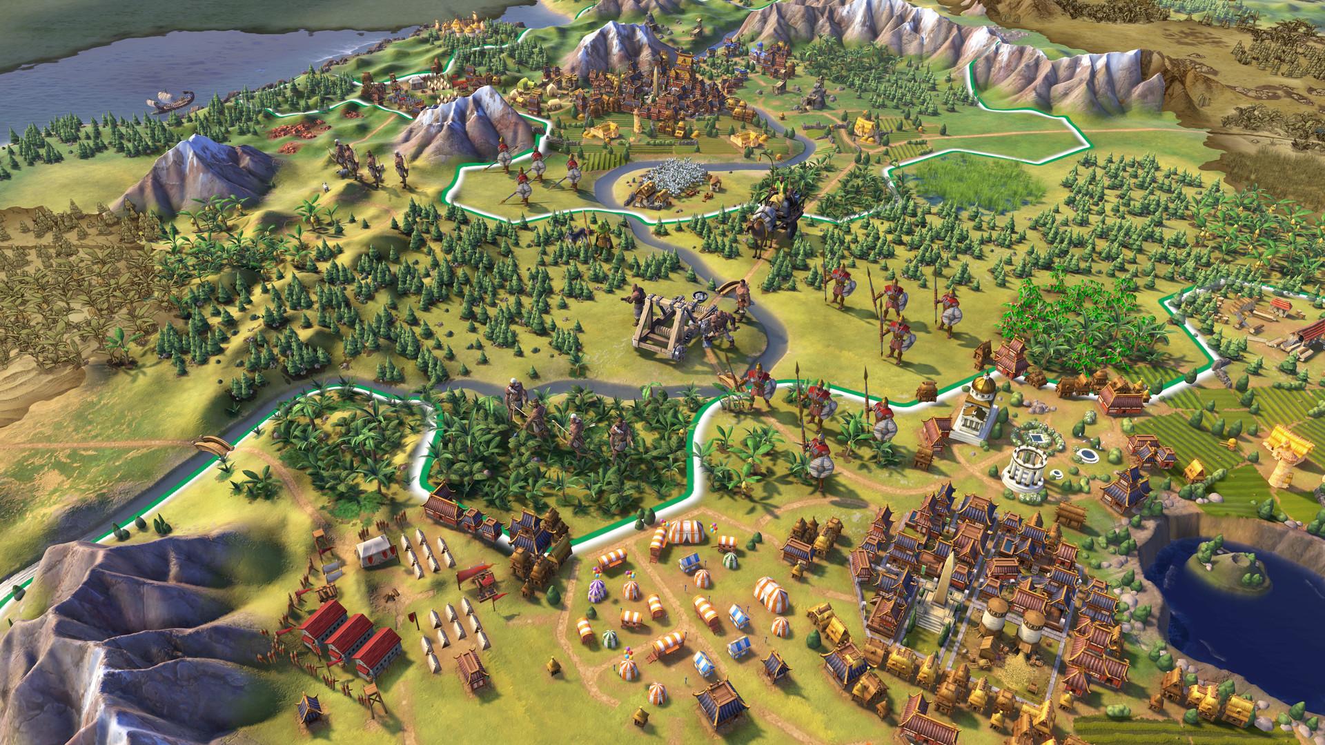 Civilization VI é o lançamento mais recente da franquia de estratégia da Firaxis e 2K Games. (Foto: Divulgação/2K Games)