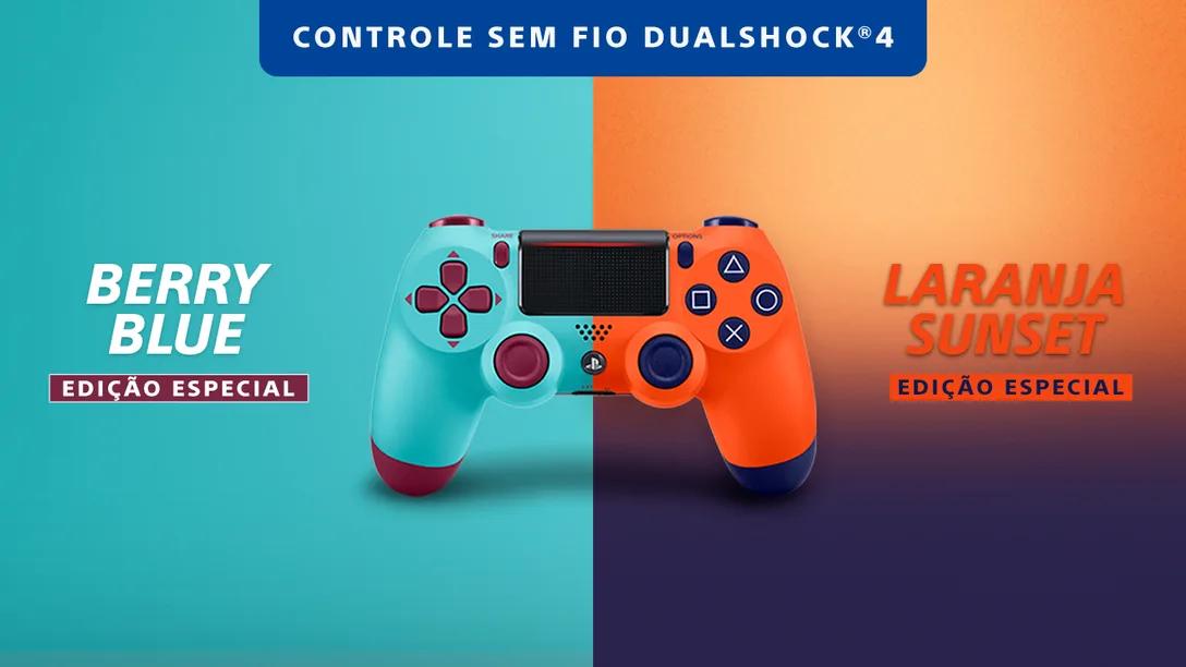 As duas cores novas do Dualshock 4 em 2020. (Imagem: Reprodução/PlayStation Blog)