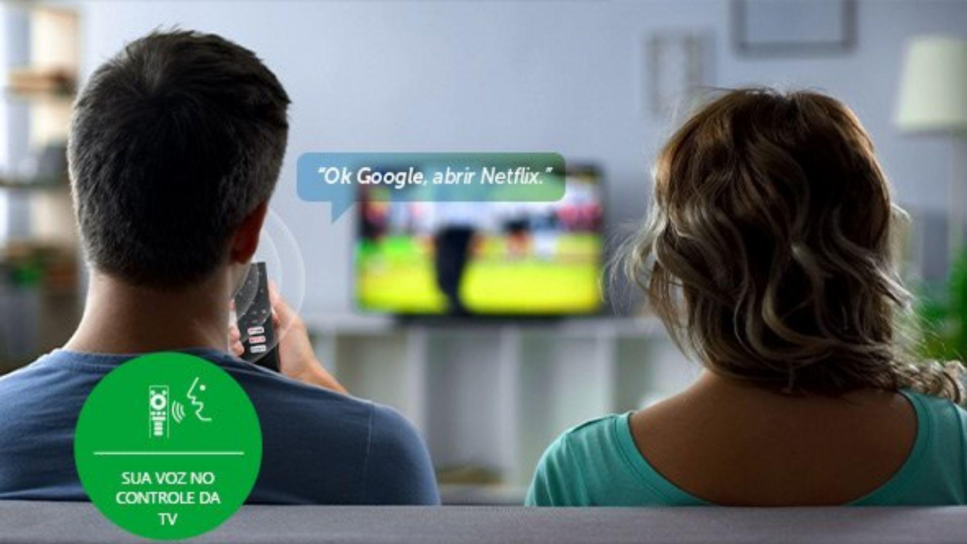 TV Box da Intelbras chega com suporte à Google Assistente e comando de voz, para você deixar sua casa ainda mais conectada. (Imagem: Divulgação/Intelbras)