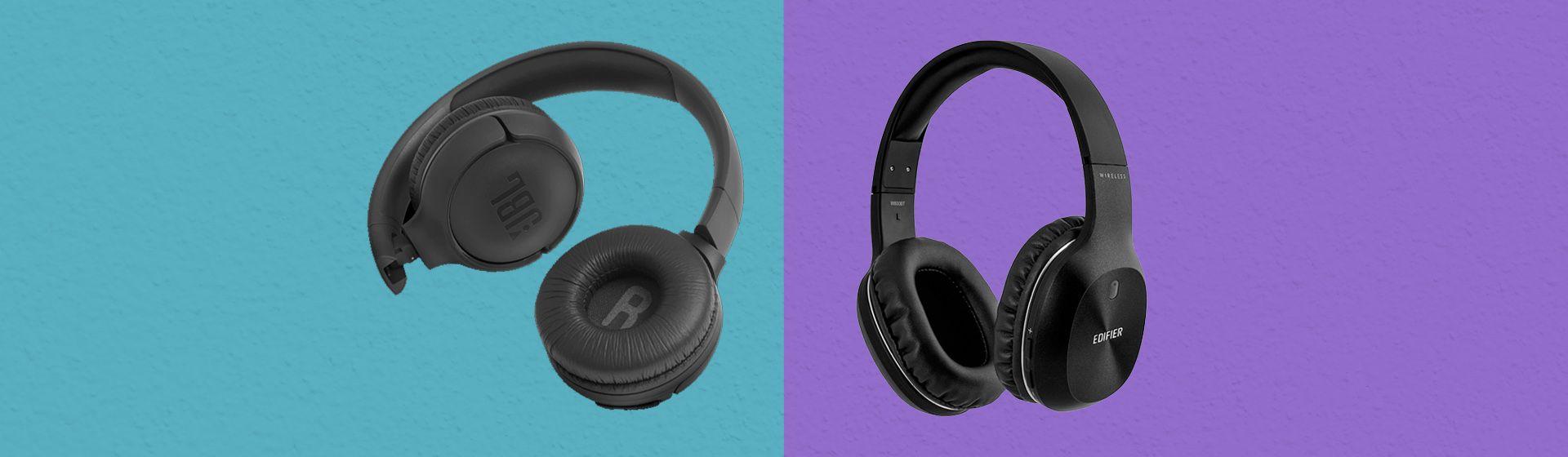 JBL Tune 500BT vs Edifier W800BT: qual é o melhor fone de ouvido Bluetooth?