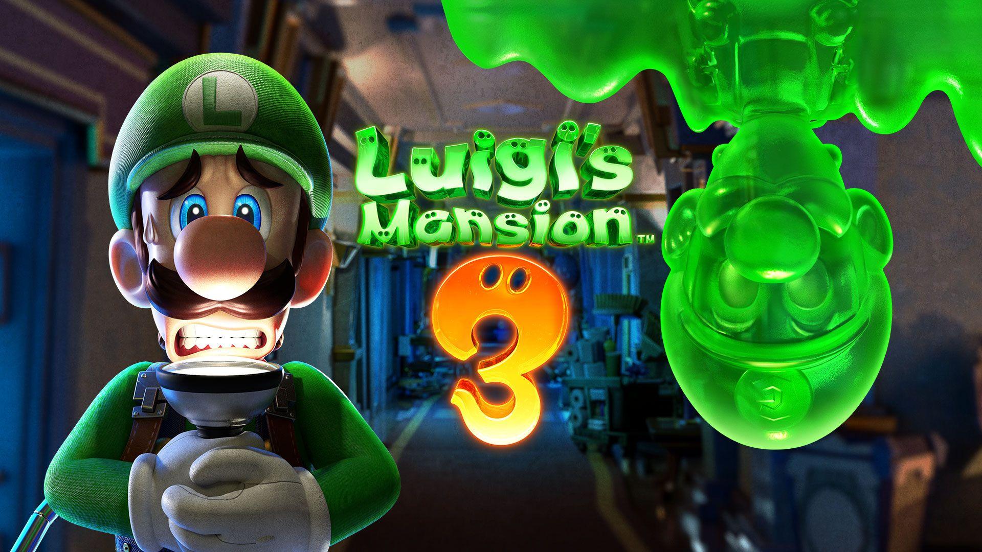 Jogador fará Luigi enfrentar os seus medos no hotel assombrado de 15 andares. (Foto: Divulgação/Nintendo)