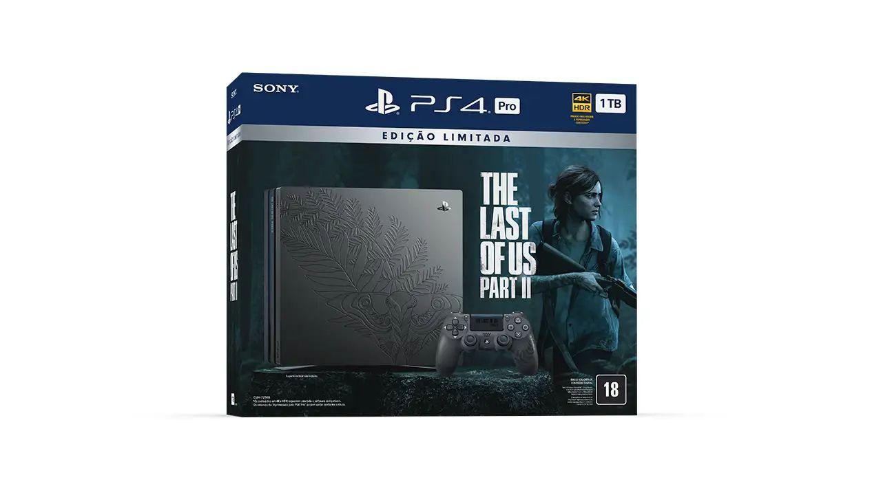 Pacote do PS4 Pro com The Last of Us Part 2 chega no dia 19 de junho de 2020 ao Brasil por R$ 3,5 mil. (Foto: Divulgação/Sony)