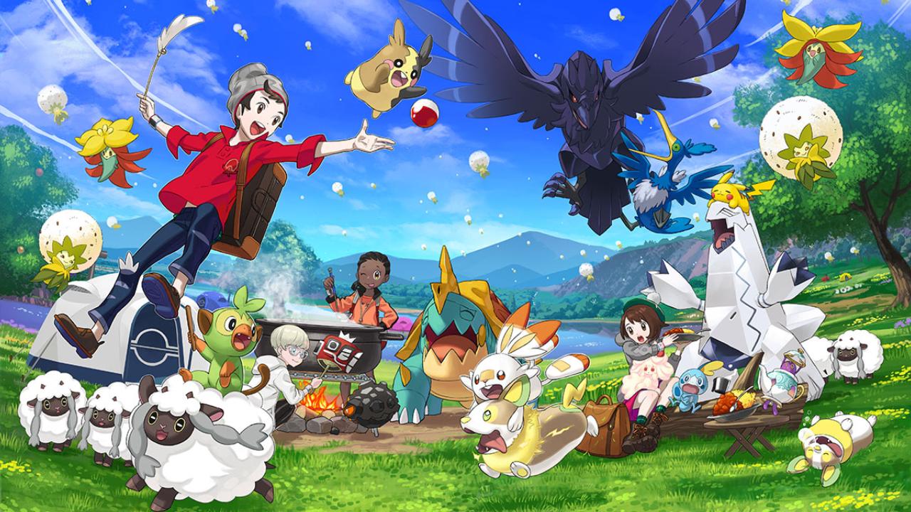 Pokémon Sword e Shield se passa no continente de Galar. (Foto: Divulgação/Nintendo)