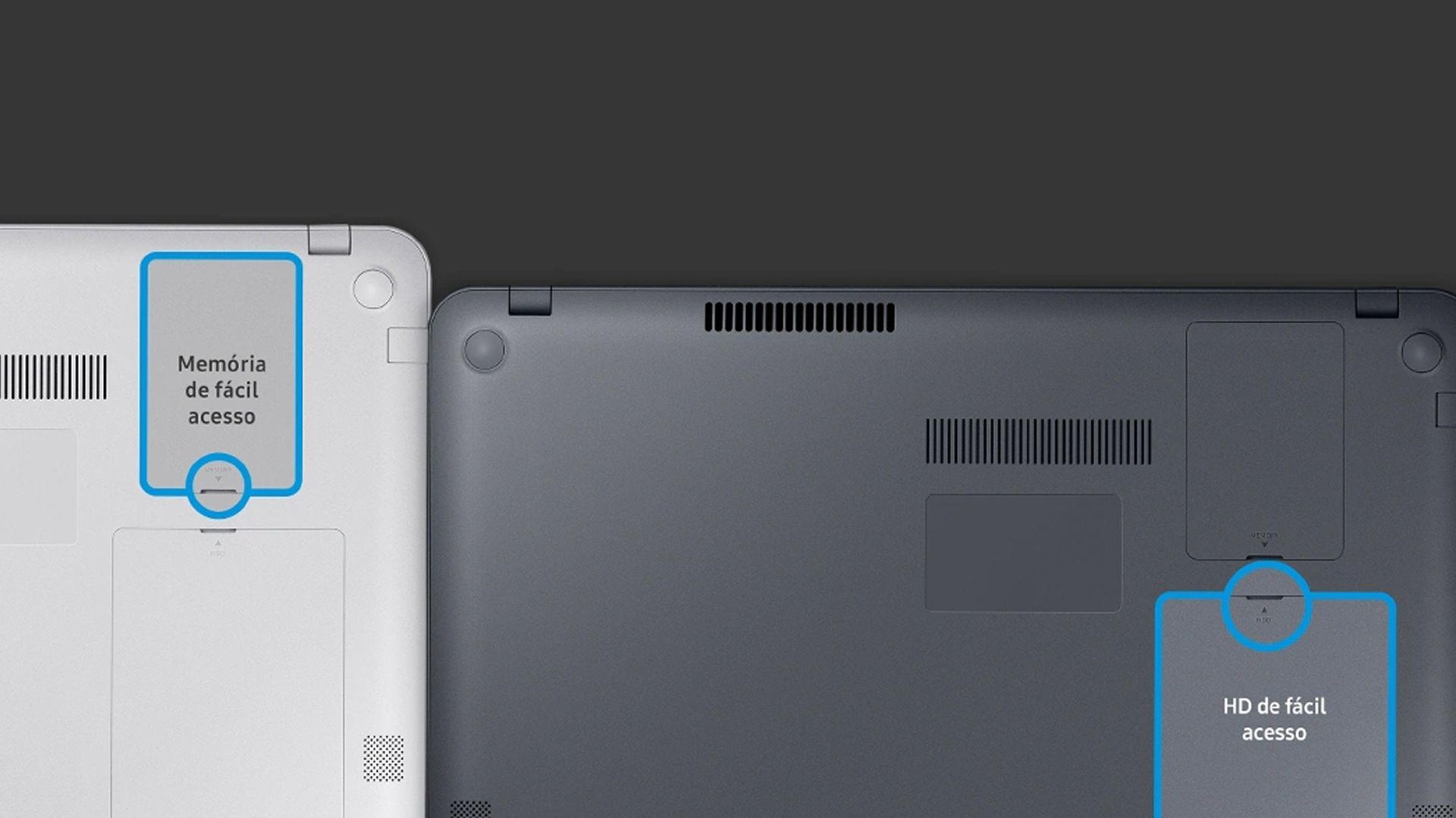 É possível melhorar a memória RAM e o armazenamento do Samsung Expert X40. (Foto: Divulgação/Samsung)