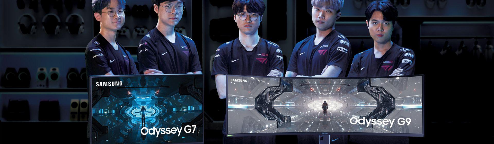 Samsung Odyssey G7 e G9: conheça os monitores gamer de 240Hz da linha