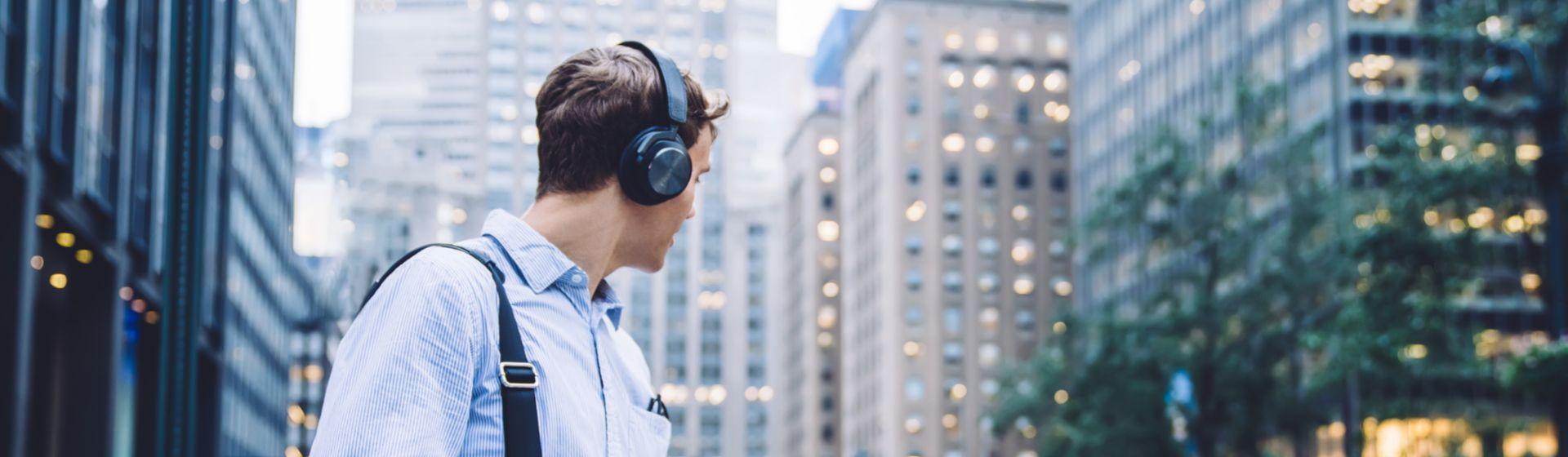 Cancelamento de ruído ativo: entenda a tecnologia presente em fones de ouvido