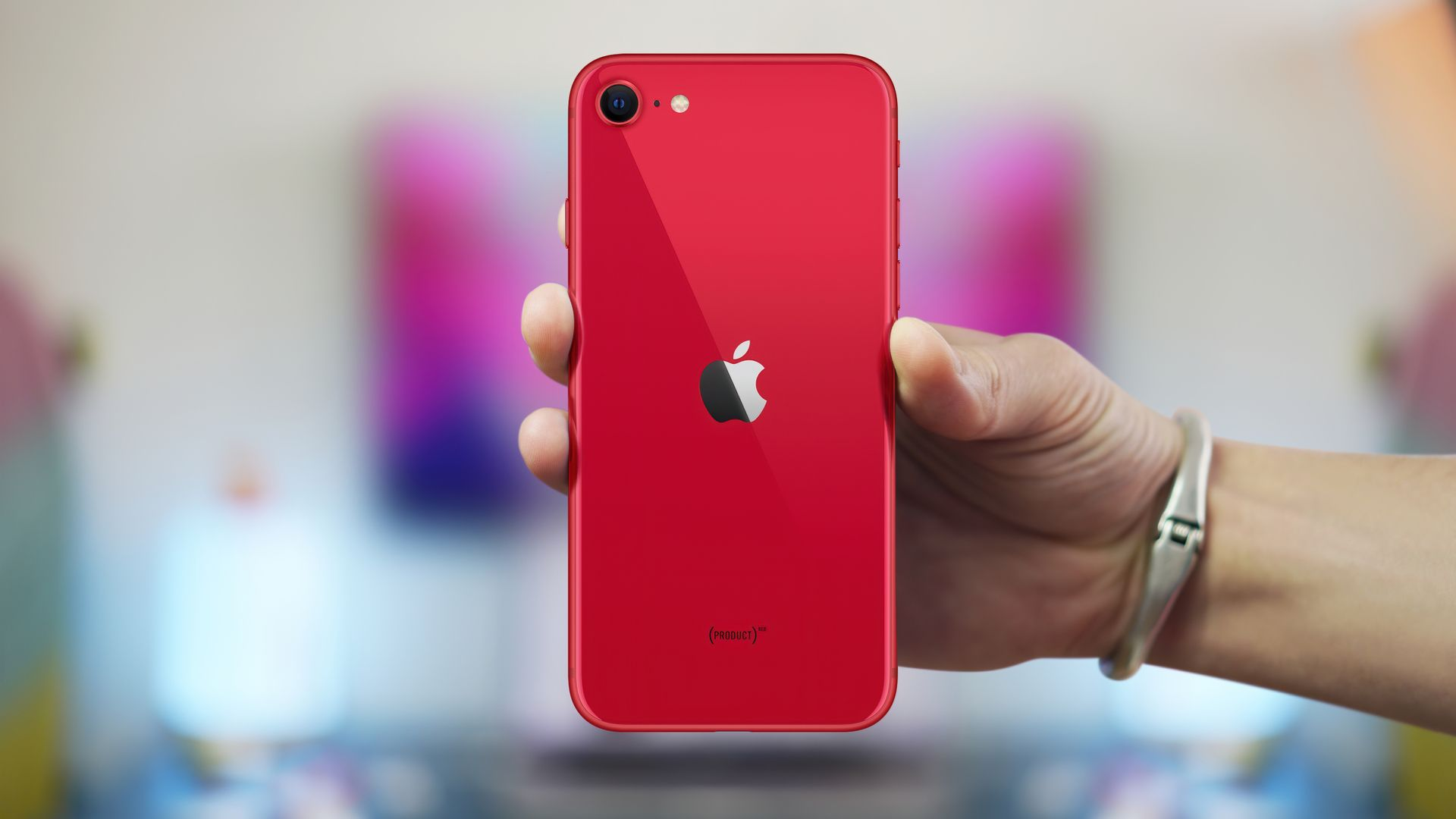 iPhone SE 2 tem corpo de iPhone 8 e desempenho de iPhone 11. (Imagem: Mr.Mikla/Shutterstock)