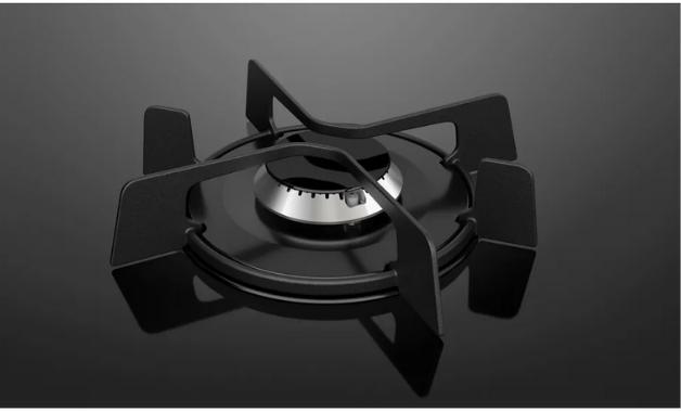 Trempe individual do fogão Electrolux 52LPV. (Imagem: Divulgação/Electrolux)