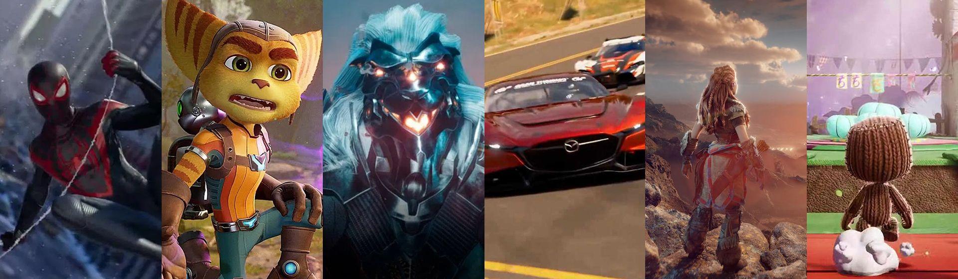 Jogos do PS5: veja os games exclusivos anunciados para o console