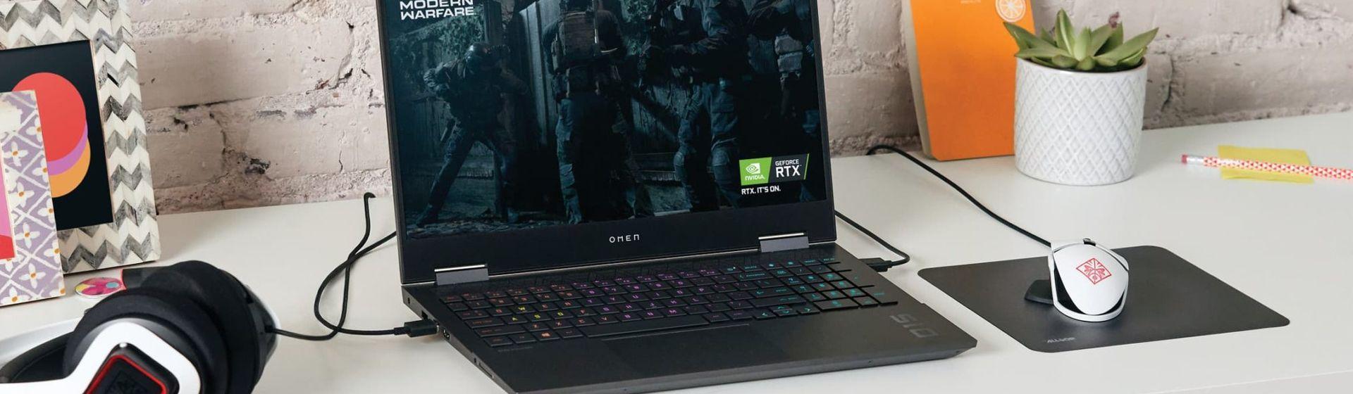 HP Omen 15 e Pavilion Gaming 16 são os novos notebooks gamer da marca