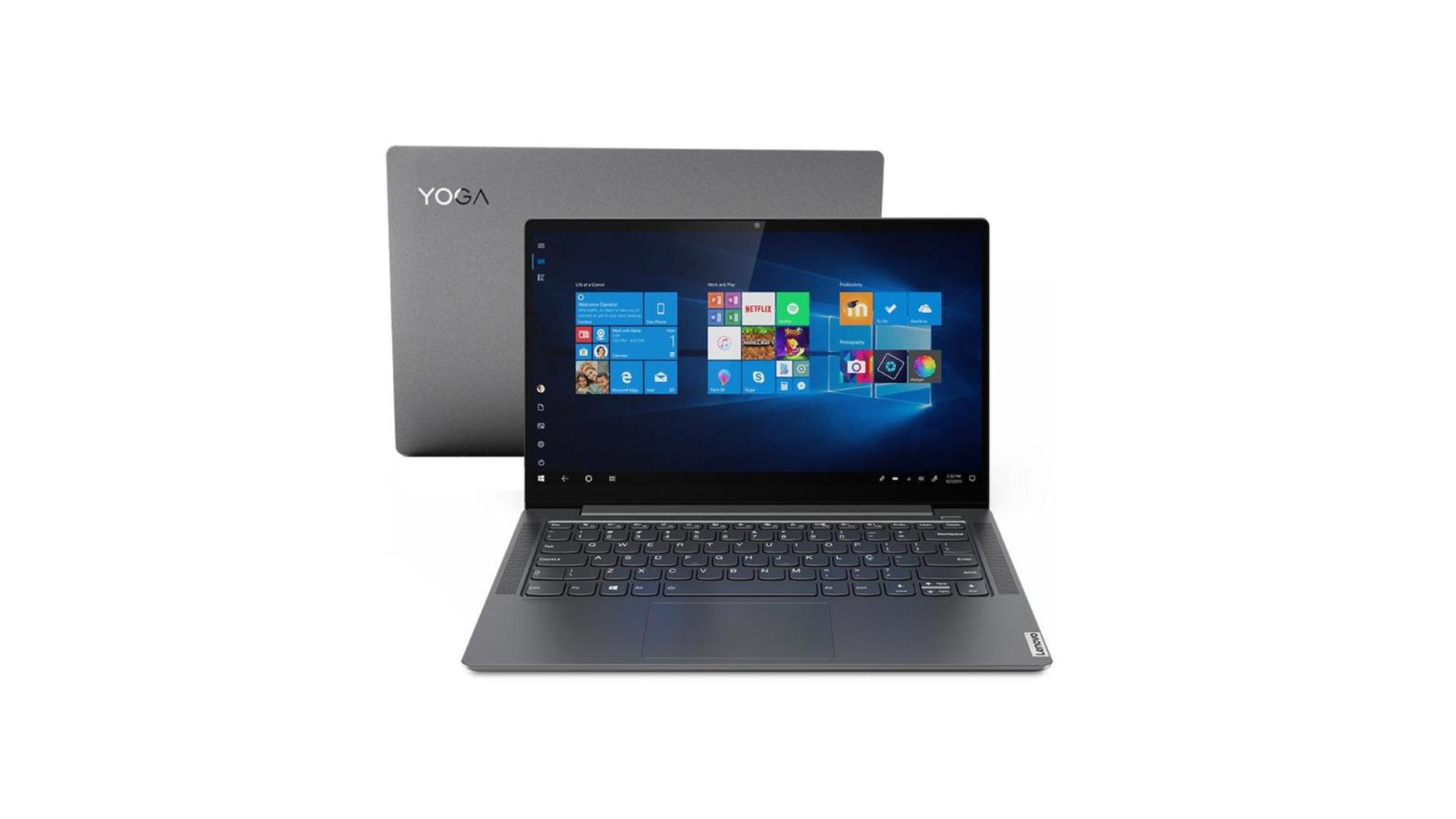 O Yoga S740 é o notebook premium da Lenovo. (Foto: Divulgação/Lenovo)