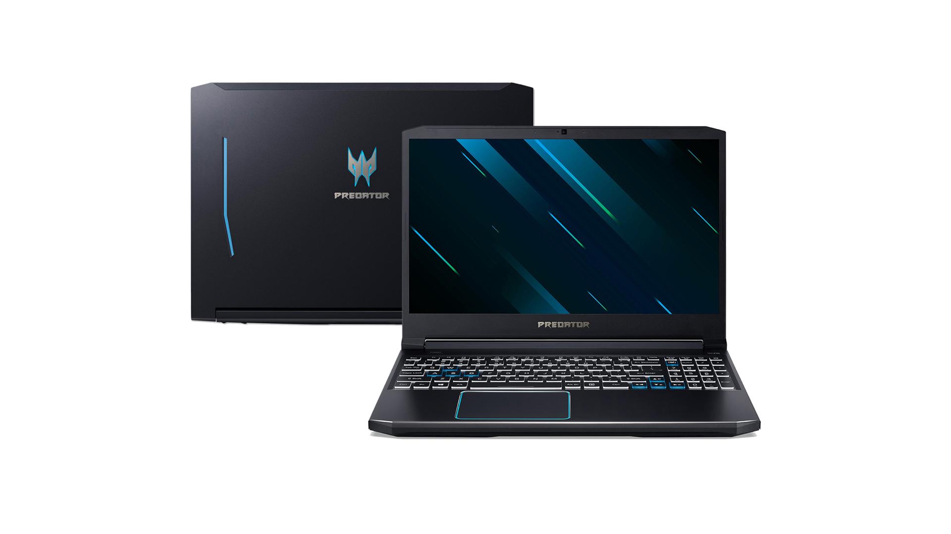 O Predator Helios 300, da Acer, é um dos notebooks gamer mais poderosos atualmente. (Foto: Divulgação/Acer)