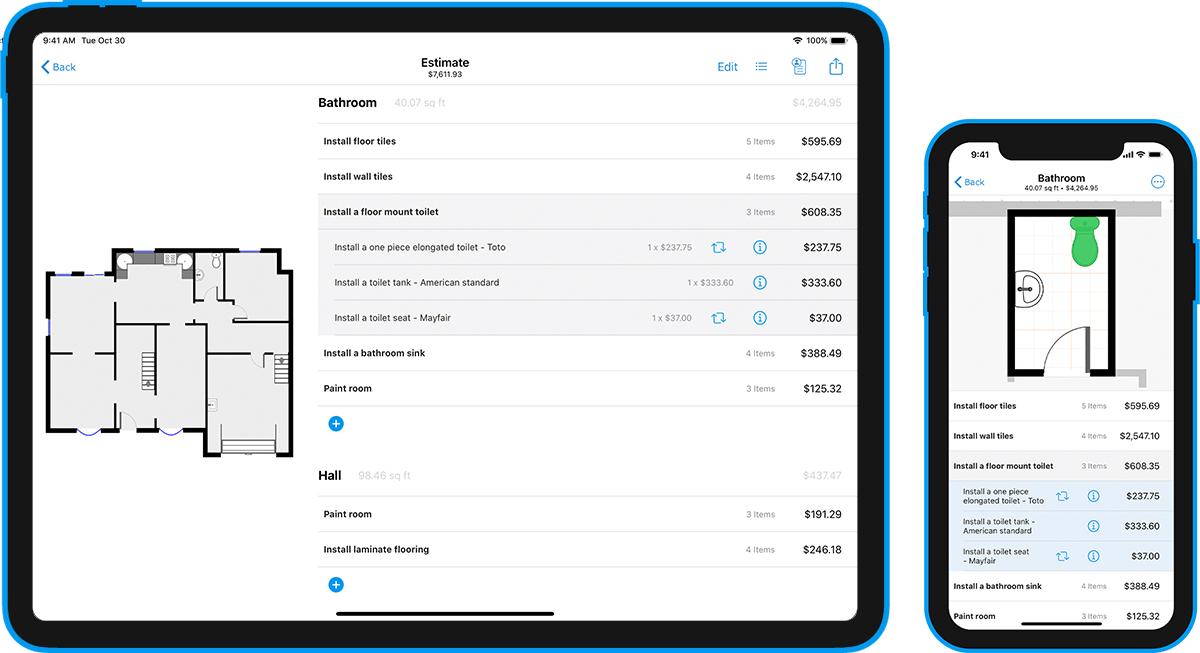 Magicplan permite realizar medições, relatórios e cálculos pelo celular ou tablet. (Imagem: Divulgação/Magicplan)