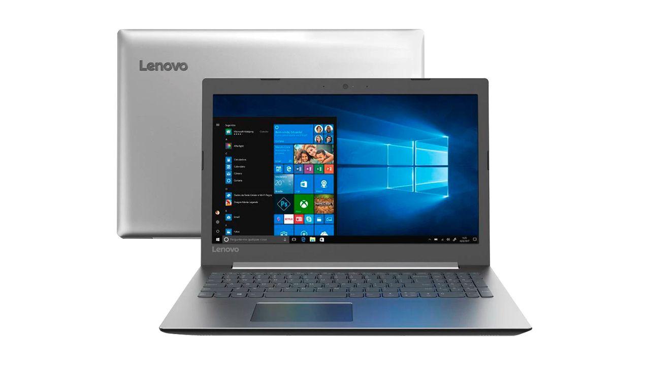 Lenovo IdeaPad 330 é uma opção mais barata de notebook com Intel Core i3. (Foto: Divulgação/Lenovo)