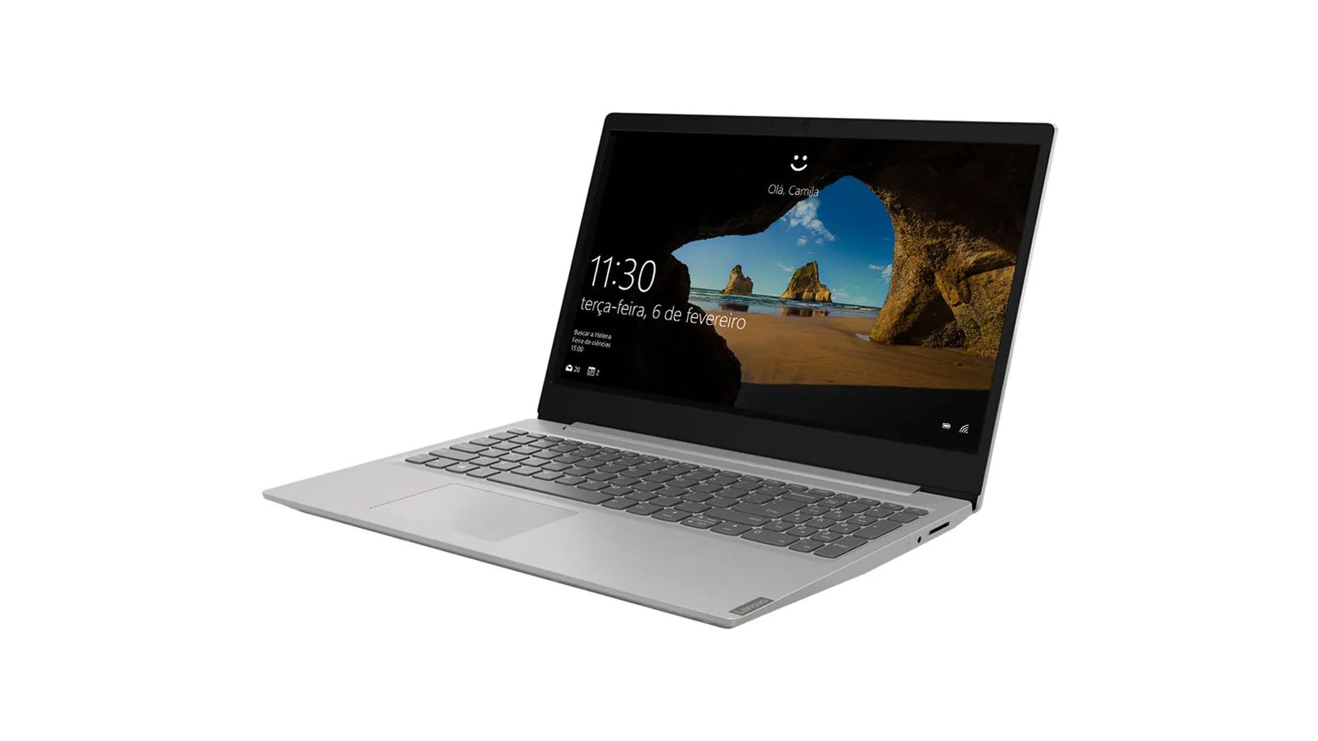 Lenovo IdeaPad S145 com i3 é recomendado para atividades simples. (Foto: Divulgação/Lenovo)