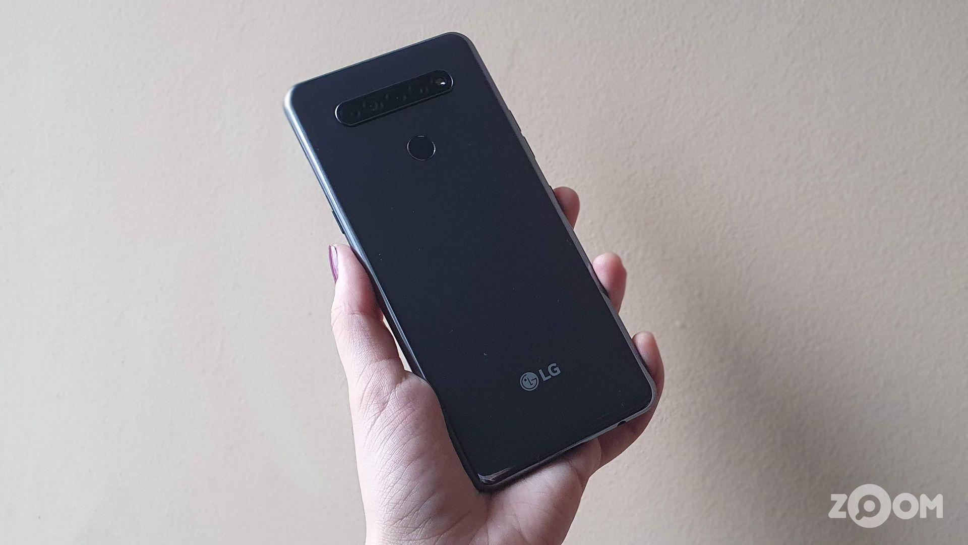 Câmera quádrupla traseira do LG K51s (Imagem: Ana Marques/Zoom)