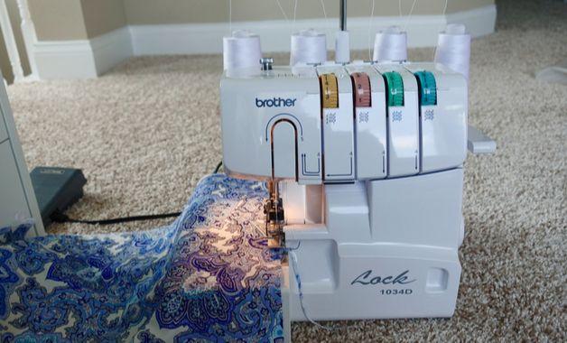 Máquina de costura Brother. (Imagem: Reprodução/Shutterstock)