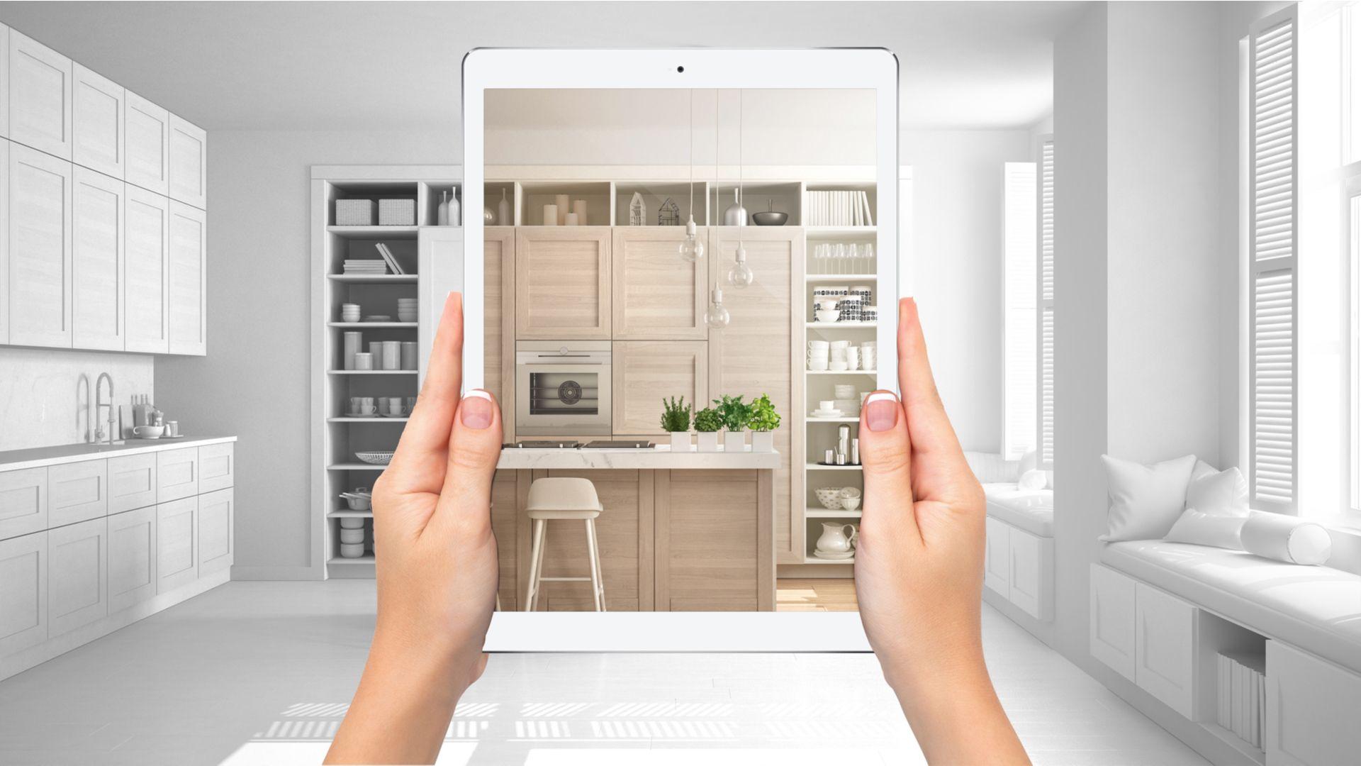 Dia da arquitetura: conheça cinco apps para montar projetos pelo celular ou tablet. (Imagem: Archi_Viz/Shutterstock)