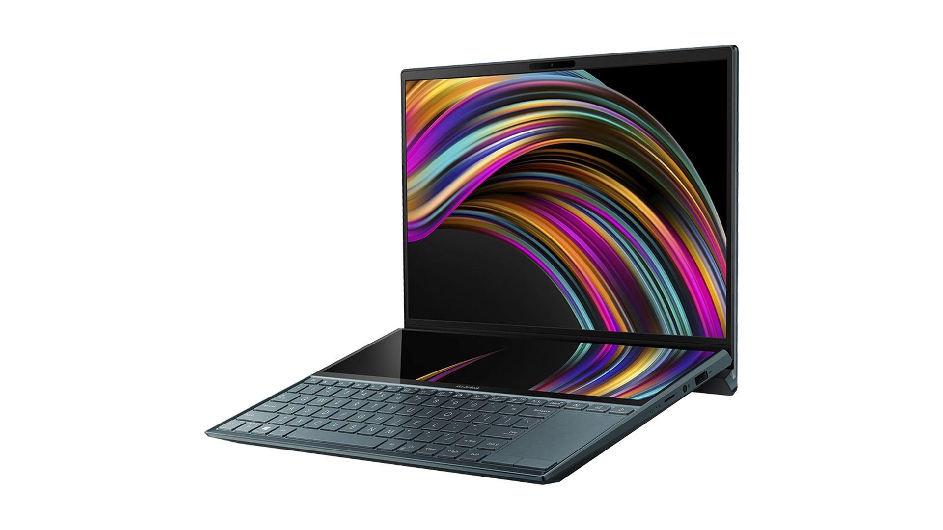 ZenBook Duo com ScreenPad Plus. (Foto: Divulgação/Asus)