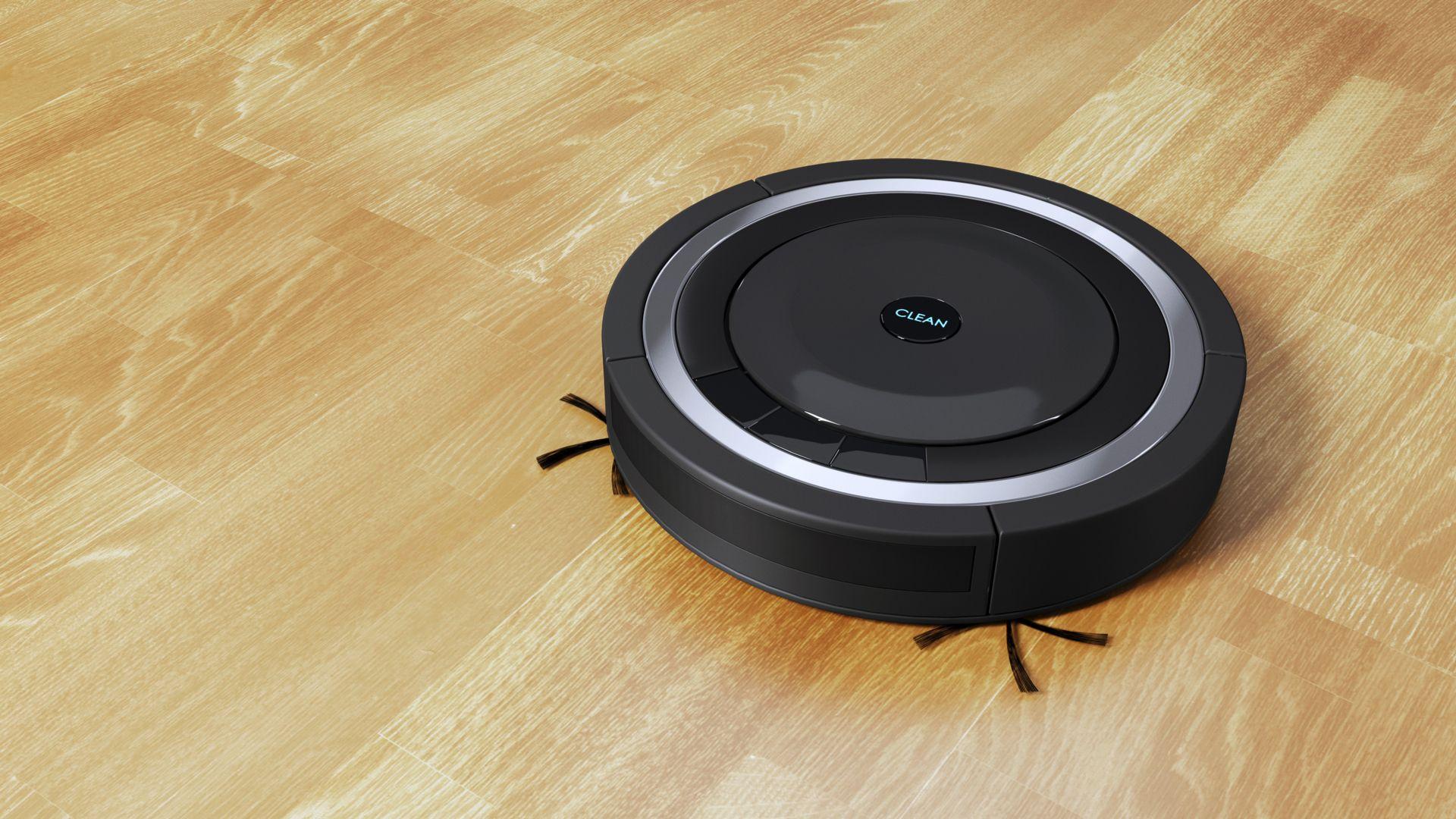 Os aspirador de pó robô vem com mini cerdas para limpeza de cantos e frestas. (Imagem: ParamePrizma/Shutterstock)