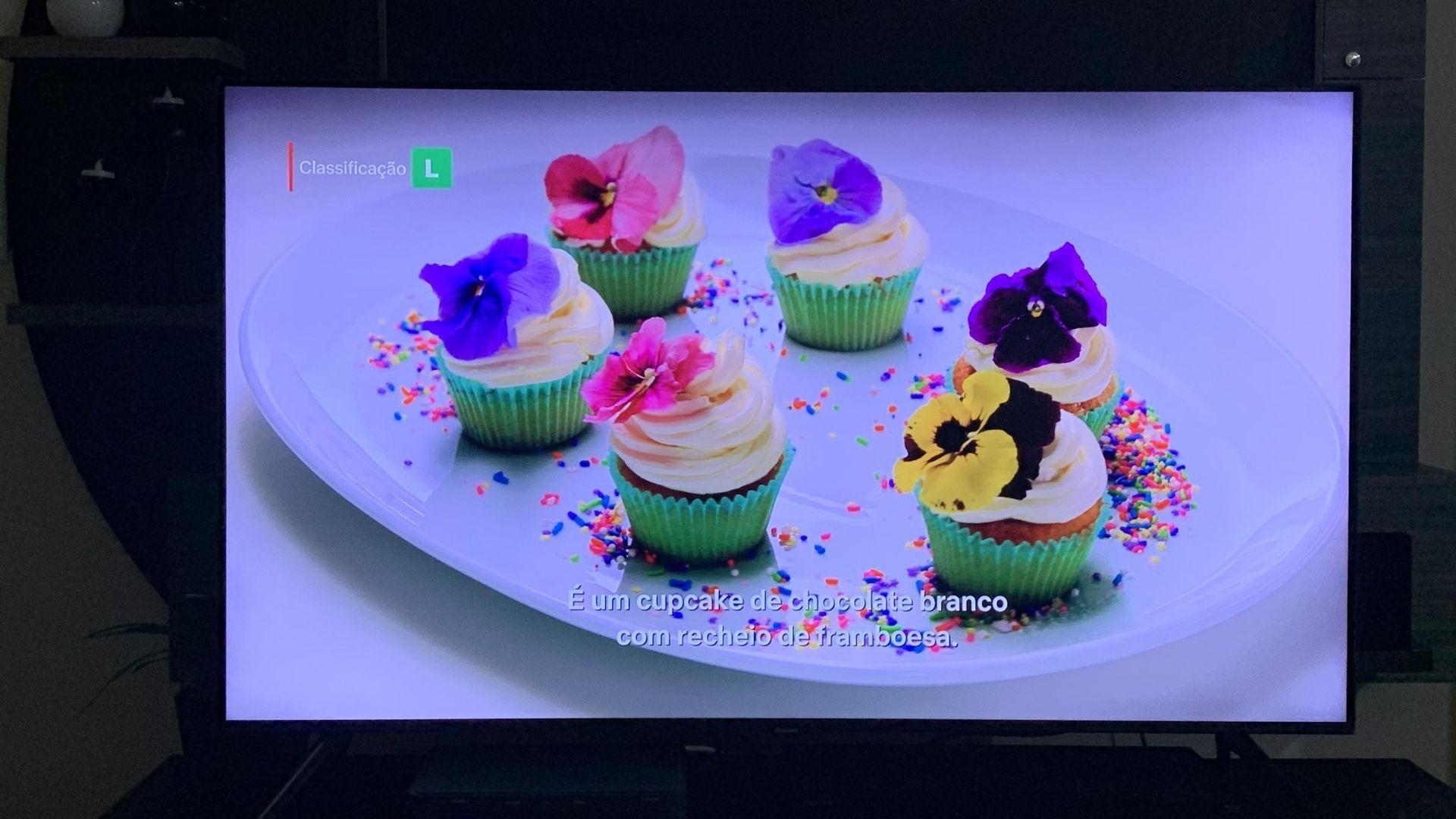 TV Samsung TU8000 vem com processador Crystal UHD que faz com que as imagens fiquem mais claras e próximas à realidade. (Imagem: Yulli Dias/Zoom)