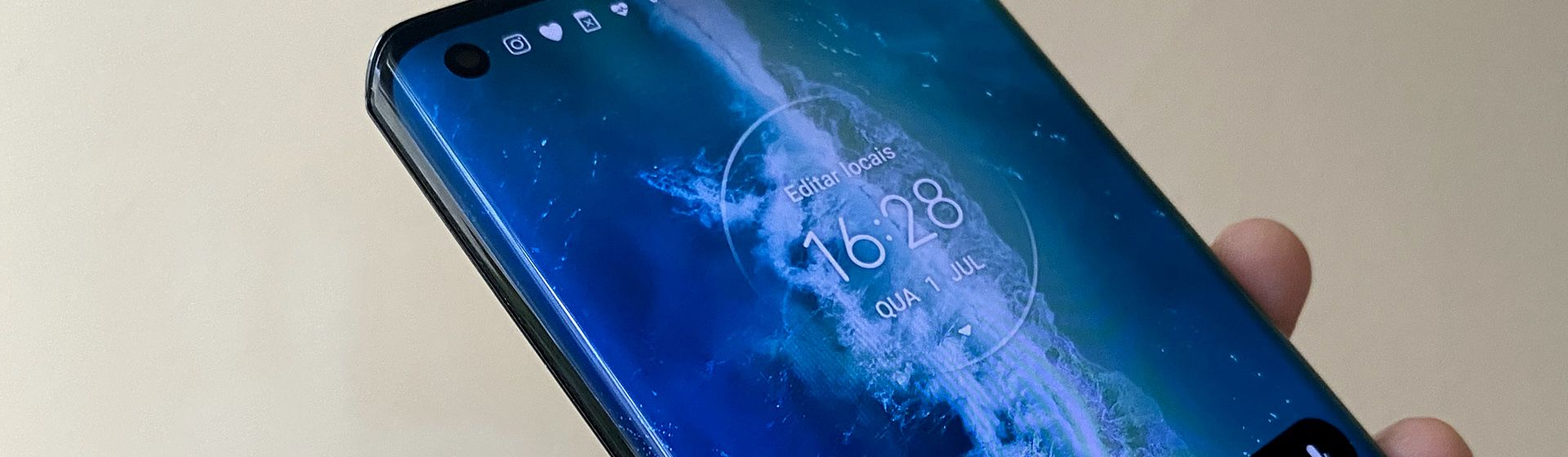 Motorola Edge+ chega ao Brasil com 5G; veja preço e ficha técnica