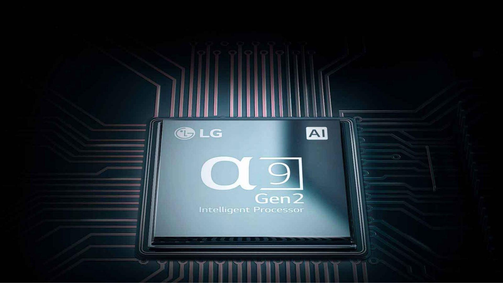 O processador da LG C9 é um dos mais modernos e eficientes do mercado. (Imagem: Divulgação/LG)