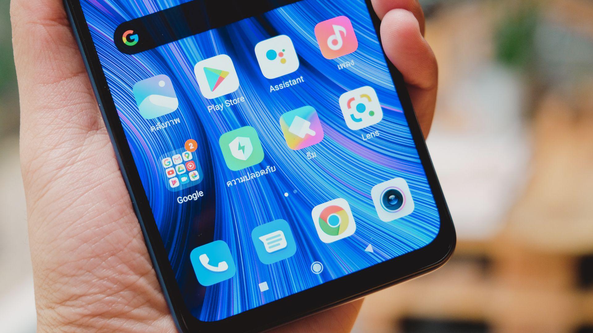 Redmi Note 9 tem Android 10 com interface MIUI, da Xiaomi. (Imagem: Framesira/Shutterstock)