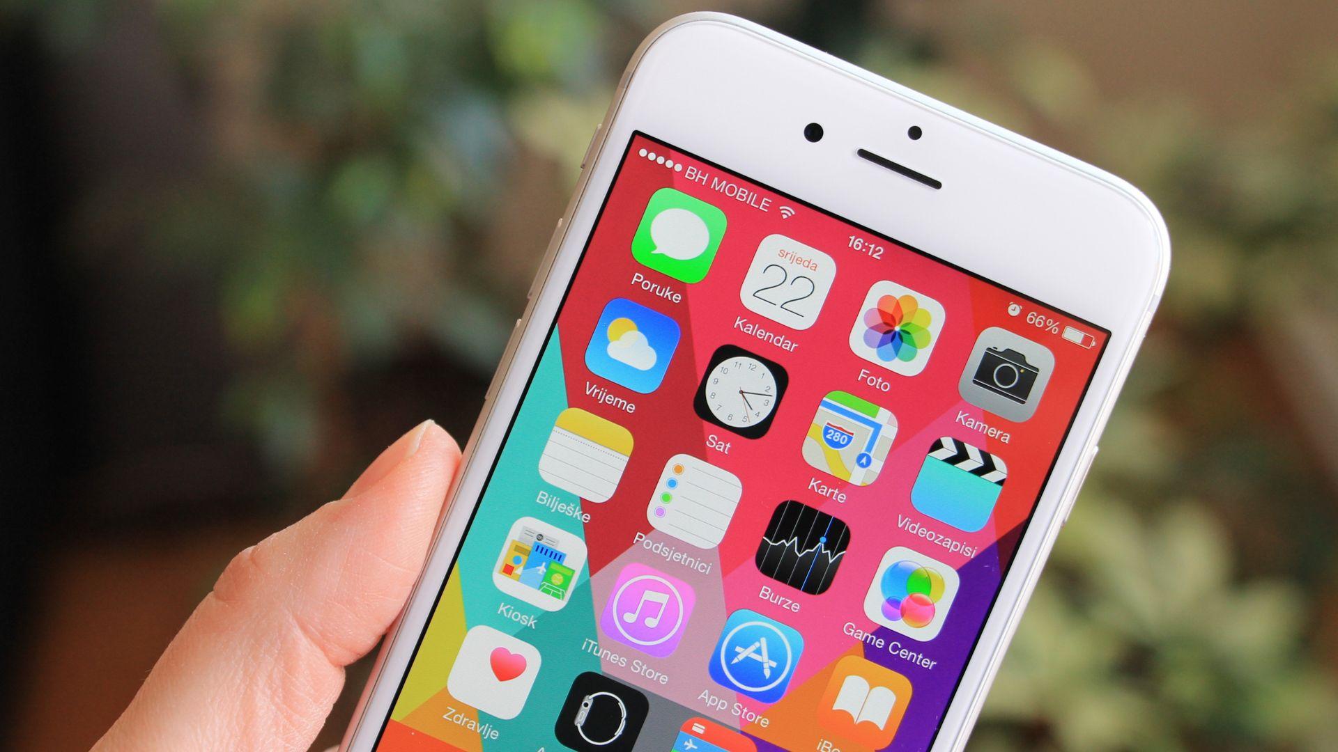 Tela do iPhone 6 tem 4,7 polegadas. (Imagem: Ellica/Shutterstock)