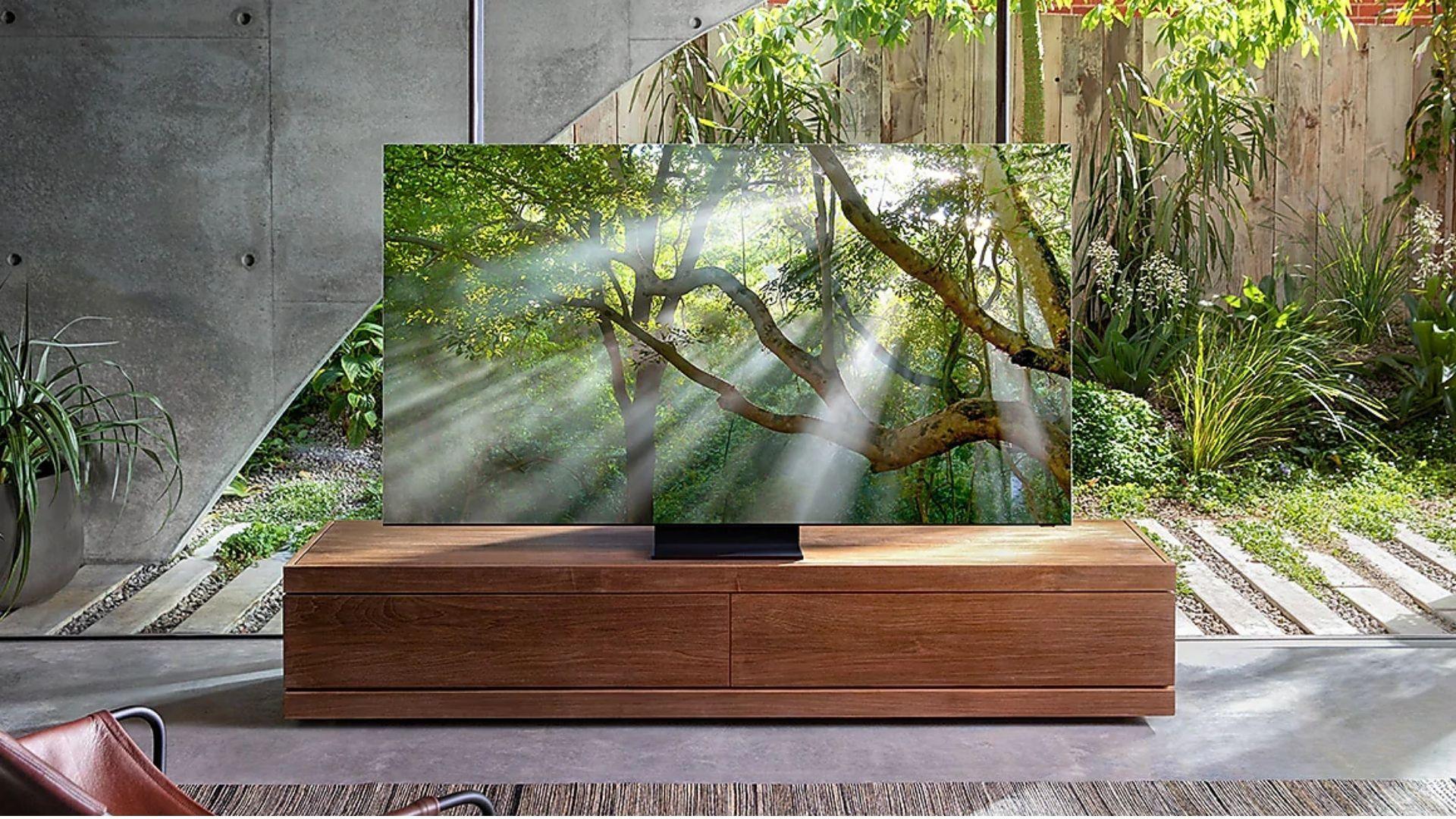 Samsung anunciou, pela primeira vez, duas TVs 8K em um mesmo ano. (Imagem: Divulgação/Samsung)